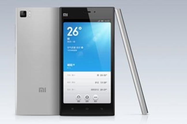 Xiaomi Mi3 smartphone