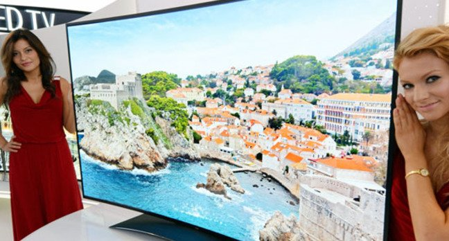 LG Ultra HD curved OLED TV