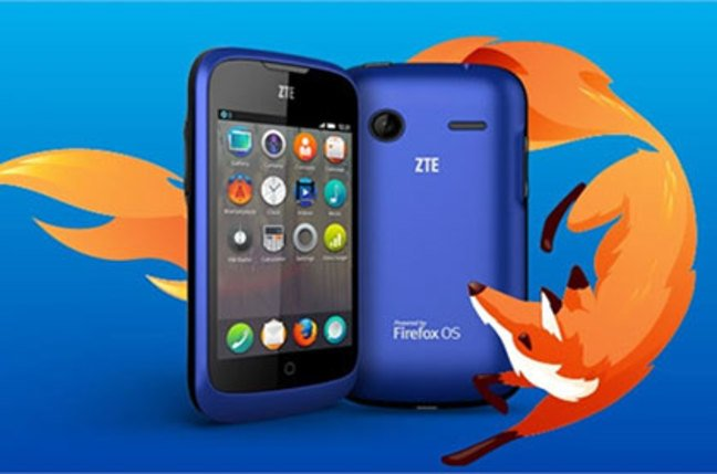 ZTE Viewer Smartphone with Firefox OS
