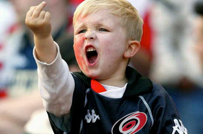 Child swearing