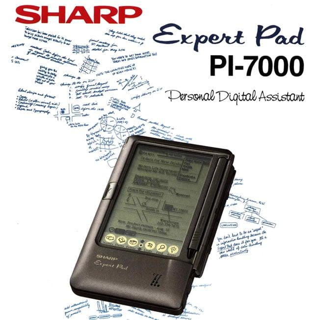 Sharp ExpertPad ad