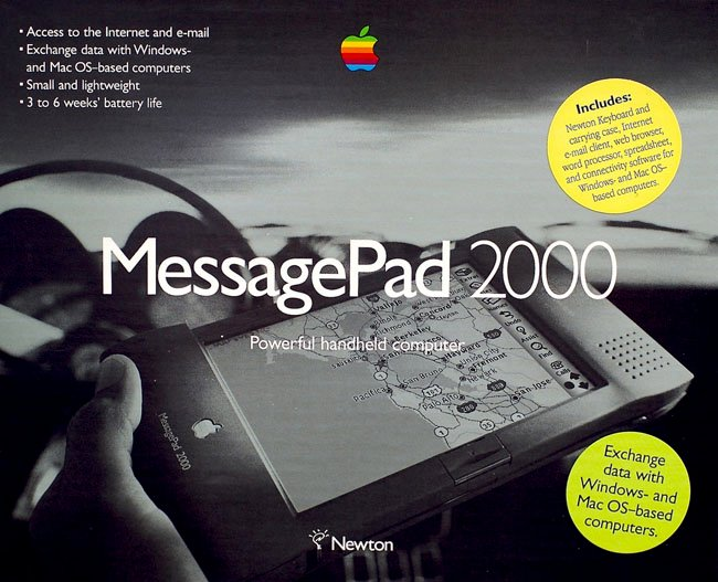 Apple MessagePad 2000 box