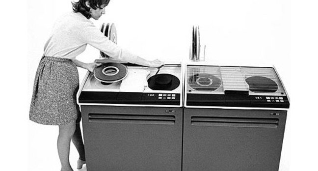 IBM 3410 open reel tape subsystem