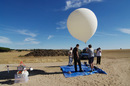 The LOHAN team prepares to launch yesterday