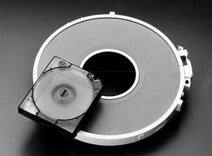 IBM open reel tape and 3480 cartridge compared