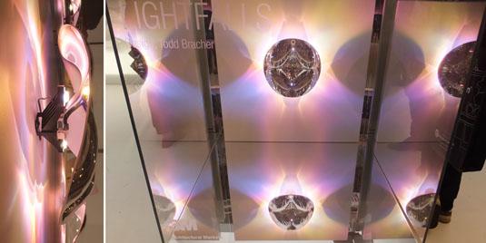 3M Lightfalls LED lighting with mirror film