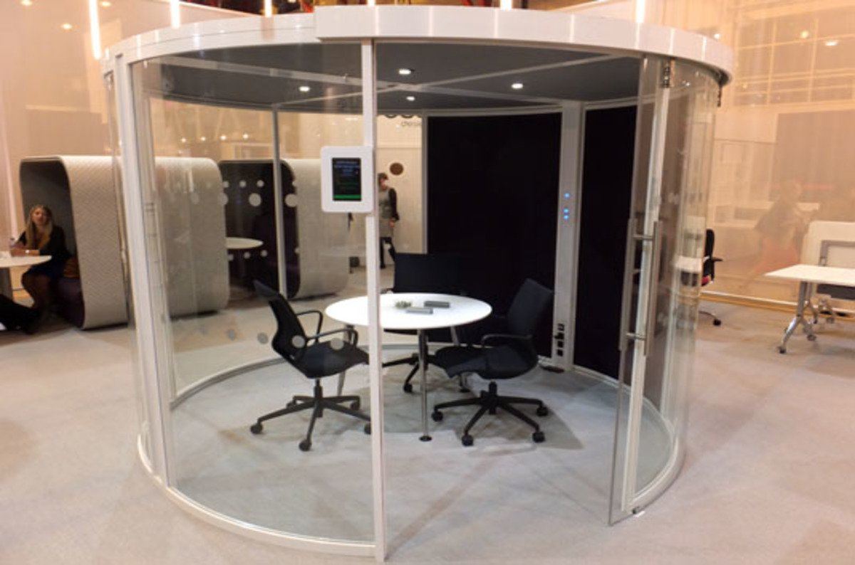 office pod furniture. Sofas With A Roof And Star Trek Seating: The Future Of Office Furniture? \u2022 Register Pod Furniture .