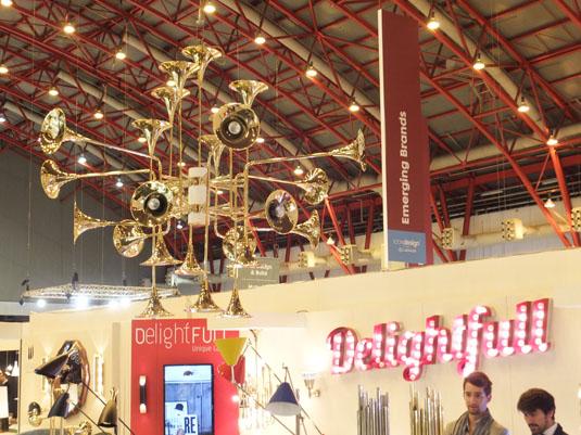 DelightFull Trombone lighting display