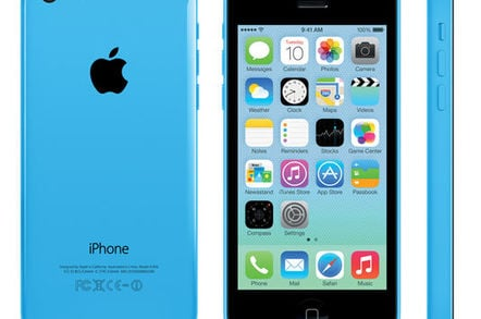 Apple iPhone 5c: back, front, and side views