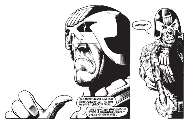 DRM is NOT THE LAW, I AM THE LAW, says JUDGE DREDD • The