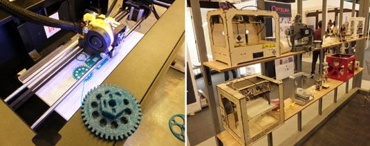 iMakr 3D printers on show