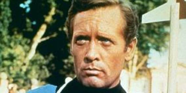 Still of Patrick McGoohan in The Prisoner
