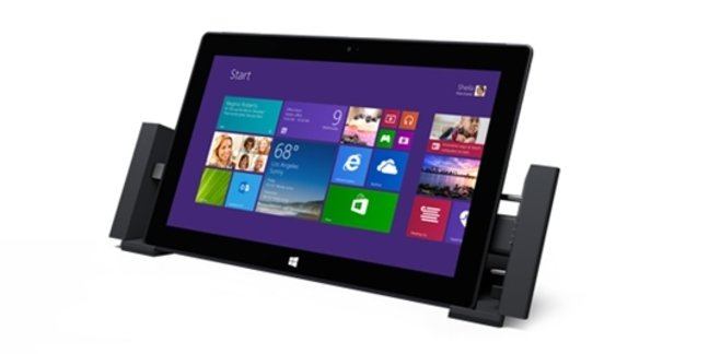 Surface Pro 2 with docking station
