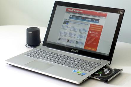 Asus N550JV-CM067H quad-core Core i7 notebook
