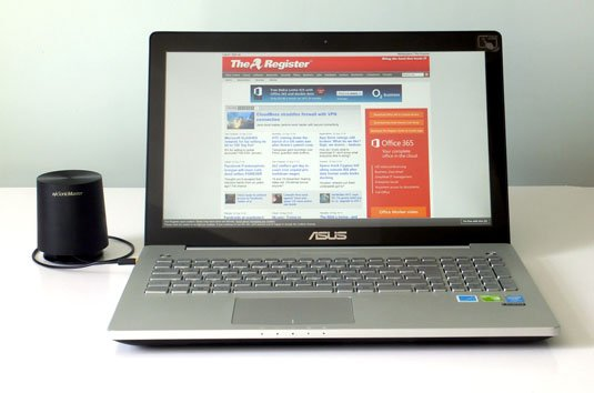 Asus N550JV-CM067H quad-core Core i7 notebook