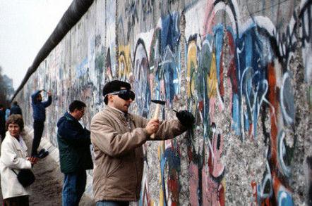 Fall of the Berlin Wall, 1989