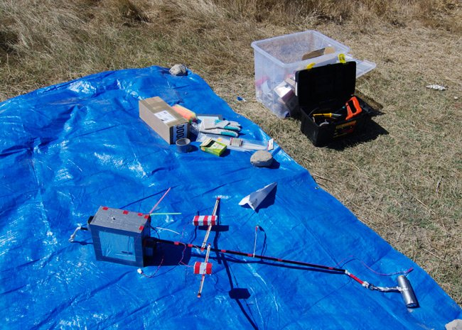The payload for our igniter test flight