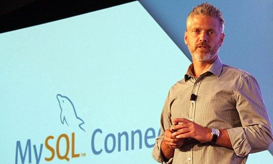 Oracle's VP of MySQL engineering, Tomas Ulin