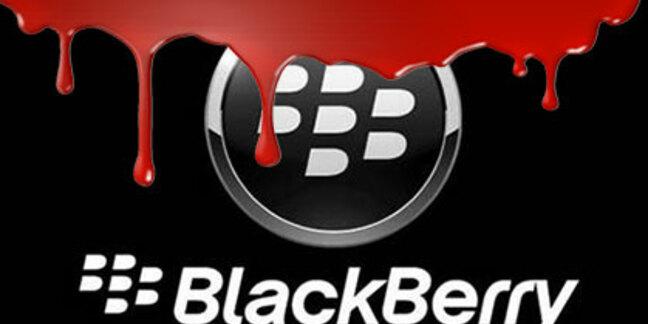 BlackBerry bleeding