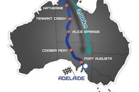 World Solar Challenge Route