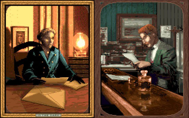 Image result for alone in the Dark 1992 pc characters