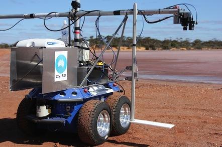 CSIRO's Outback Rover