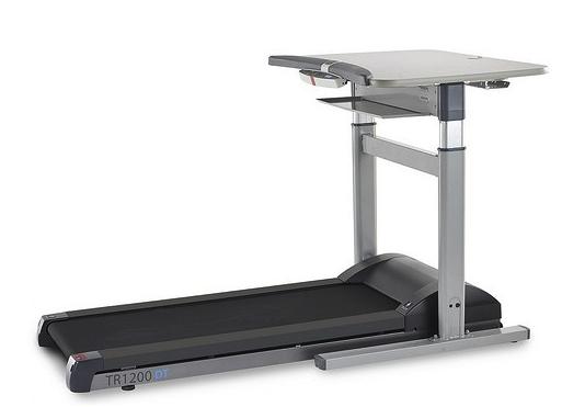 The TR1200DT-7 treadmill desk