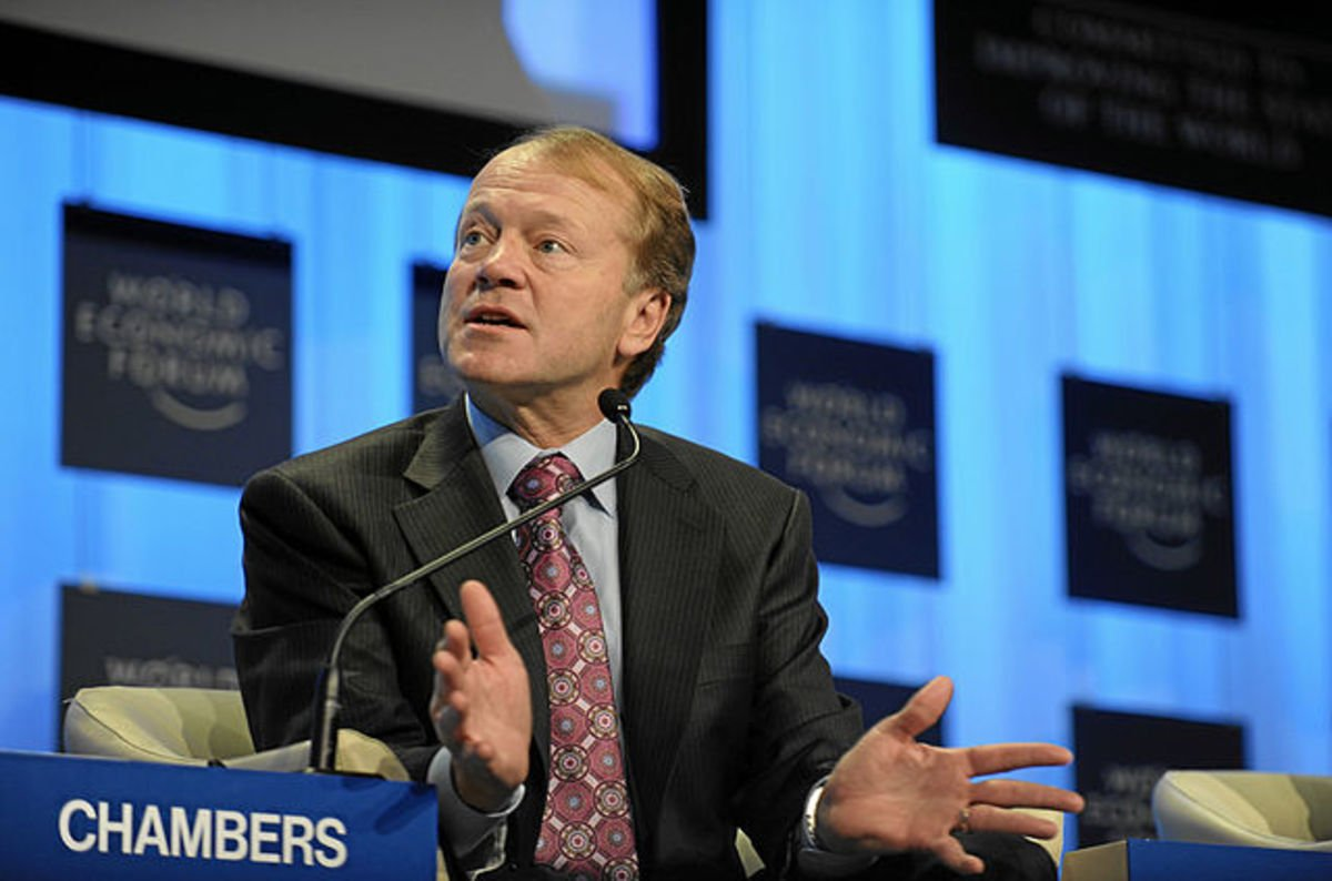 Chambers Tells India Cisco's Got Another US$100 Million To