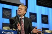 John Chambers at the World Economic Forum 2010