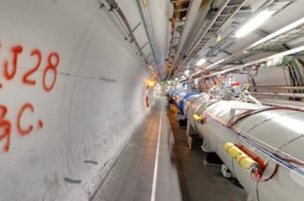The Large Hadron Collider on Google StreetView