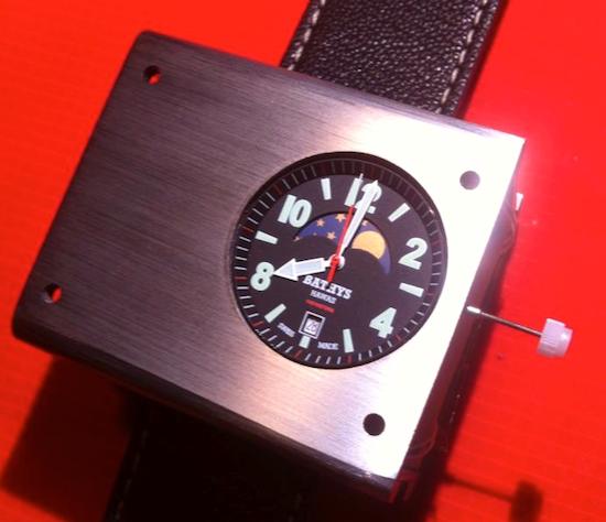 The Cesium 133 atomic wristwatch