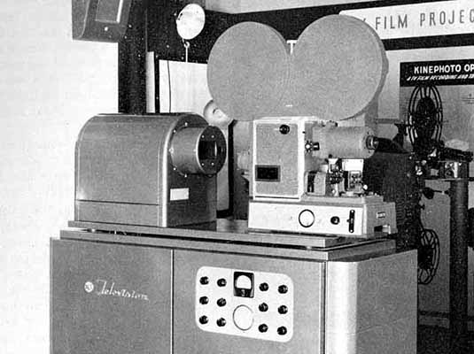 Kinescope for film video broadcasts