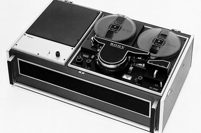 Sony CV-2000 reel-to-reel consumer video recorder