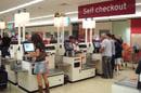 self-service checkout