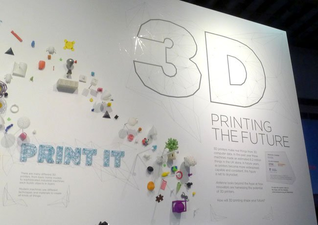 Science Museum '3D: printing the future'