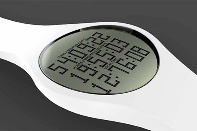 Tikker, the watch that counts down to your death