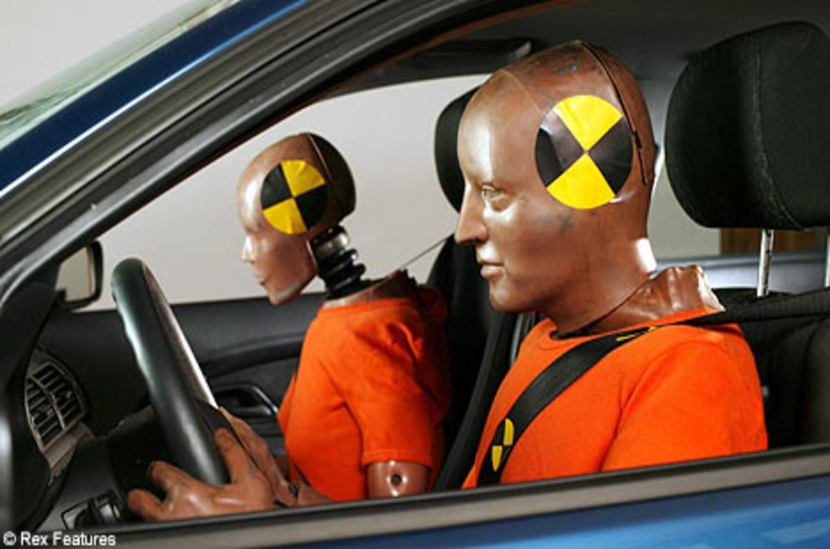 Test Dummies Car Crash