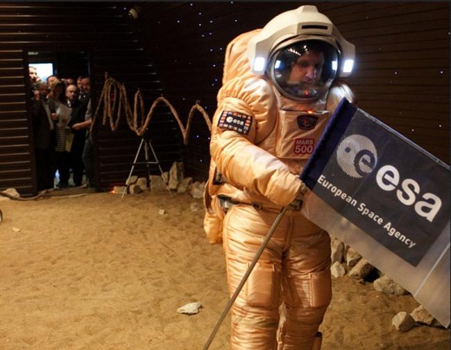 Mars 500 Mars Walk, photo ESA