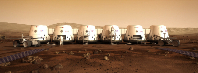 Mars One, credit Mars One