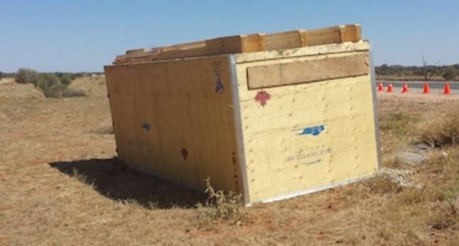 Team BlueSky's flipped box