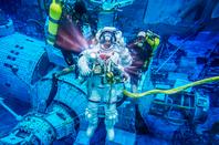 Thomas Presquet EVA training with NASA photo ESA