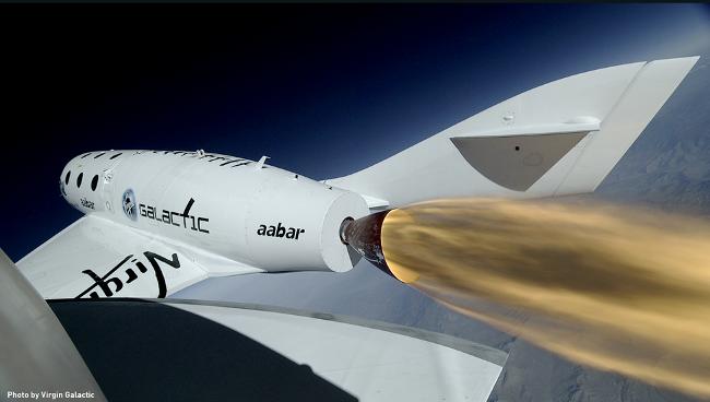 Virgin Galactic SpaceShipTwo rocket test