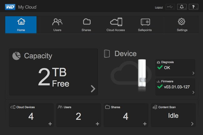 Do-it-yourself Dropbox: Western Digital's My Cloud 2TB NAS box • The Register