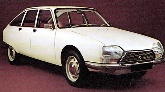 Citröen GS car from the 1970s