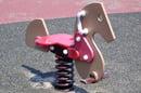 Playground spring horse