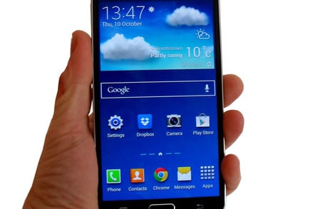 samsung galaxy note 3 once twice three times a very large phone