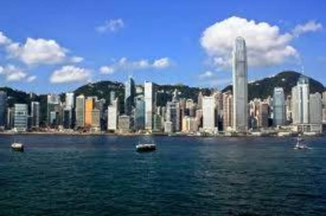 Hong Kong harbour daytime