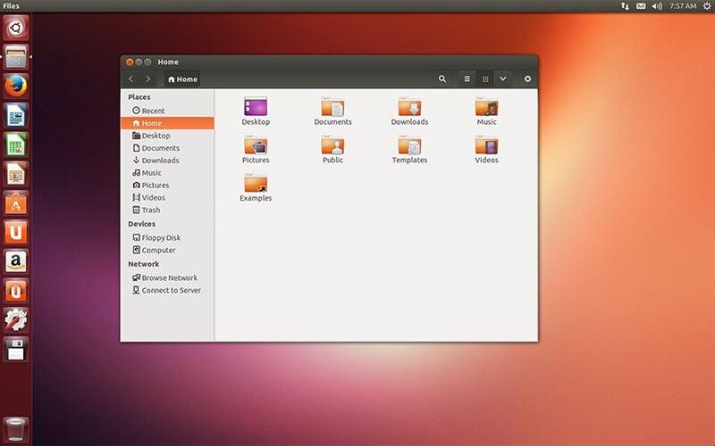 Ubuntu 13.10 Nautilus
