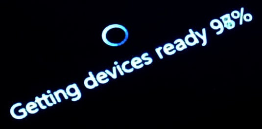 Windows 8.1 update getting devices ready