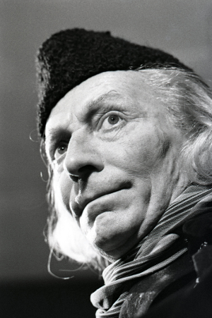 William Hartnell as the First Doctor, photo copyright BBC